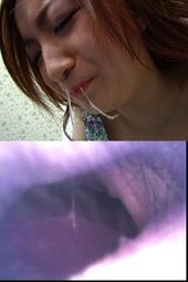 彼女の鼻水・鼻穴#2